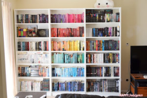 Indulgence Insider #58 – NEW BOOKSHELVES & AUGUST BOOK HAUL